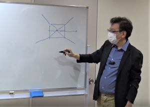 阿部先生の講義