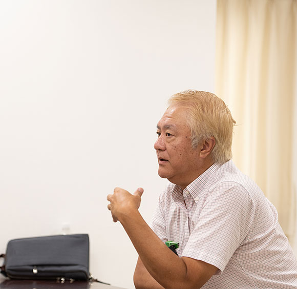 亀垣一 Hajime Kamegaki